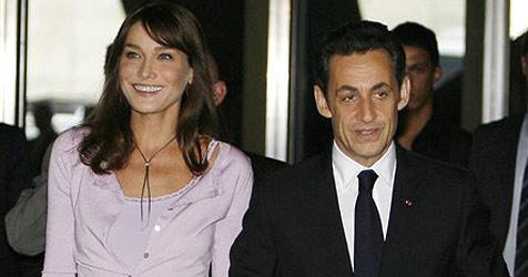 Bruni und Sarkozy urlauben in Brasilien