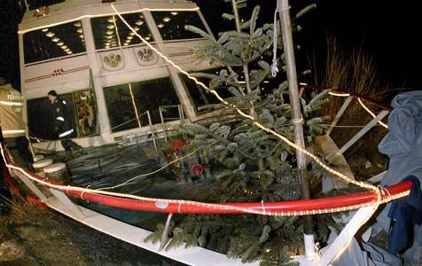 Batterie des Ausflugsschiffes hatte Kurzschluss (Bild: APA/Picturenews)