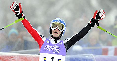Zettel triumphiert bei Heimrennen am Semmering (Bild: APA/Roland Schlager)