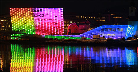 Linz startet zu Silvester ins Kulturjahr (Bild: Linz 09)
