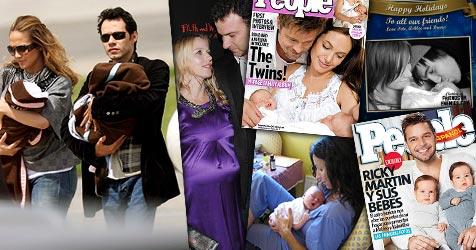 Promi-Babys, Zwillinge und originelle Namen