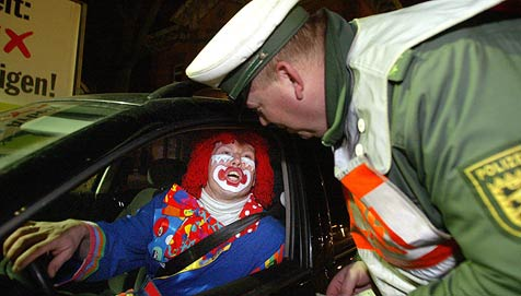 Die skurrilsten Einsätze der deutschen Polizei (Bild: dpa/dpaweb/dpa/Patrick Seeger)