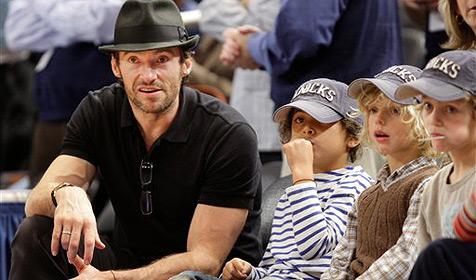 Einen Vater wie Hugh Jackman sollte man haben!