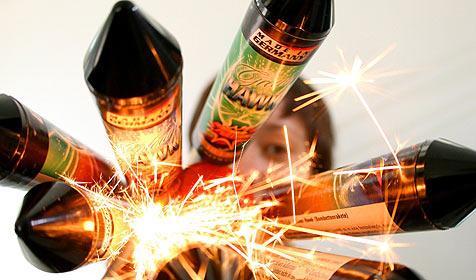 50 Prozent mehr Feuerwerks-Verletzte als 2008