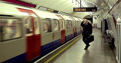 Erste Geburt seit 1924 in Londoner U-Bahn