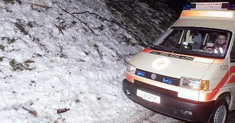20-Jähriger rettet sich aus brennendem Auto