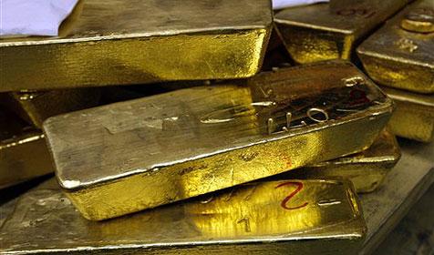 Russische Regierung bestellt goldenes Bett