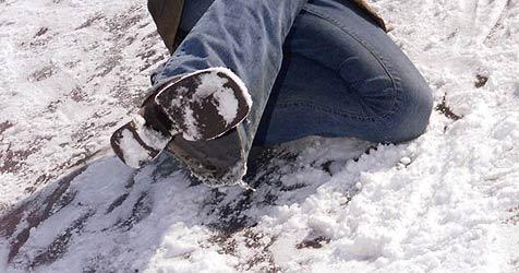 Verwirrte Pensionistin vor dem Erfrieren gerettet (Bild: Martin Jöchl)
