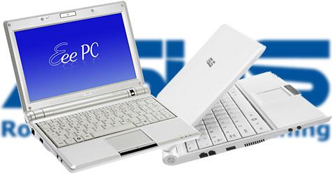 Eee-PCs mit Touchscreen und Tastatur-PC