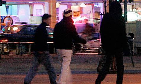 Drei Raubüberfälle innerhalb von drei Stunden in Linz