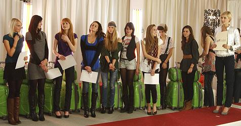 Nur 10 von 100 Kandidatinnen sind weiter (Bild: Puls 4 / Jürgen Hammerschmid)