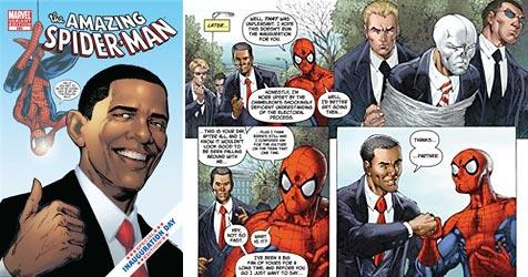 "Obama zu Gast in neuem ""Spider-Man""-Comic"