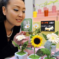 Nickende Topfpflanzen für einsame Japaner