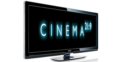 Philips präsentiert Fernseher im 21:9-Kinoformat (Bild: Philips)