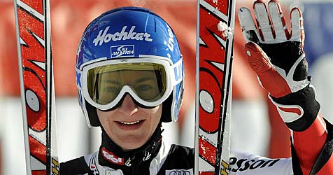 Silber für Kathrin Zettel nach starkem Slalomlauf (Bild: apa/Robert Jaeger)