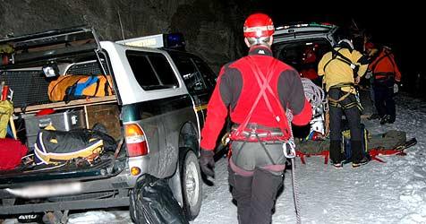 Skifahrer am Krippenstein aus Bergnot gerettet (Bild: APA/Robert Jaeger/Bergrettung Werfen)