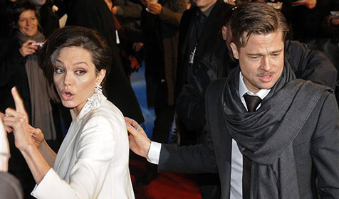 Angelina Jolie als gestrenge Oberlehrerin
