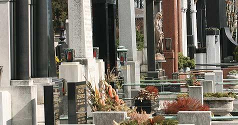 15 Gräber am Friedhof von Bad Gastein beschädigt (Bild: Jürgen Radspieler)