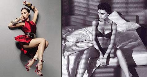 """Victoria Beckham rekelt sich für russische """"Vogue"""""""