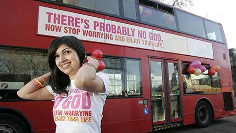 Kampagne gegen Gott ist Renner in England