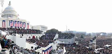 1.474-Megapixel-Foto zeigt Obamas Vereidigung (Bild: David Bergmann)