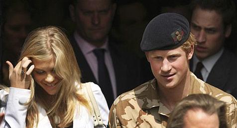 Prinz Harry mit Ex-Freundin Chelsy gesichtet