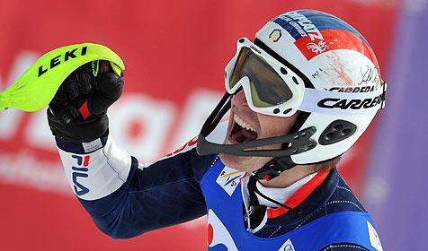 Mölgg triumphiert im Garmisch-Slalom vor Rocca