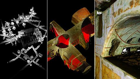 Erstes 3-D-Modell der Domitilla-Katakombe (Bild: APA/Zimmermann/Kanngiesser)