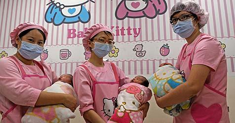 """""""Hello Kitty""""-Geburtsklinik in Taiwan eröffnet"""