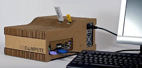 Computer-Gehäuse aus Karton (Bild: Brenden Macaluso)