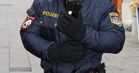 Räuber-Duo nach Bankraub von Polizei gestellt (Bild: Christian Jauschowetz)