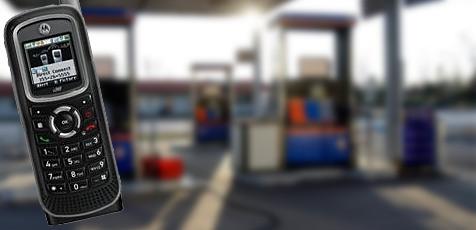 Für Tankstellen ungefährliches Motorola-Handy