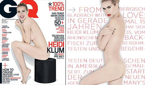 """Heidi Klum: """"Ich fühle mich gut ohne Kleidung"""" (Bild: Rankin für GQ)"""
