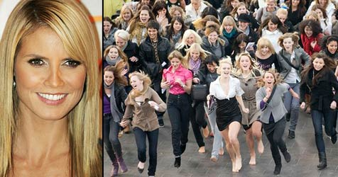 1.104 Mädchen wollten in die Modelshow