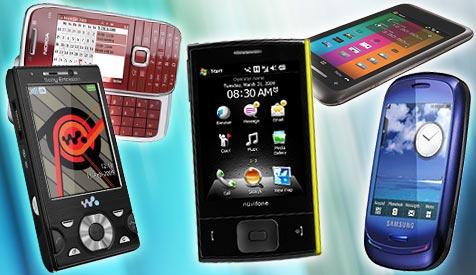 Die Handys der Zukunft