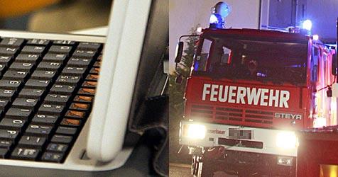Laptop überhitzt: Garage geht in Flammen auf (Bild: dpa/Intel/A9999 Db Intel/APA/GERT EGGENBERGER)