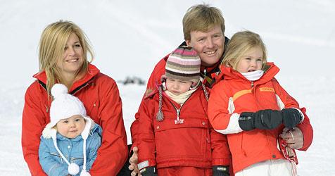 Niederländische Königsfamilie auf Urlaub in Lech (Bild: APA/Stiplovsek Dietmar)