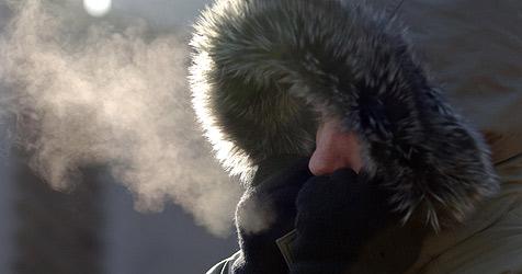 Wiener Neustadt am zweiten Advent als Kältepol (Bild: APA/Barbara Gindl)