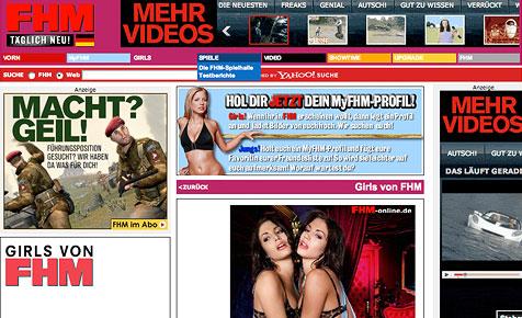 """GNTM""-Kandidatin Tessa modelt auch nackt (Bild: FHM/Max Seam)"