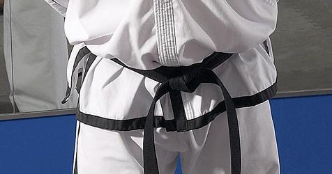 Judomeister legt Einbrecher auf die Matte (Bild: © [2009] JupiterImages Corporation)