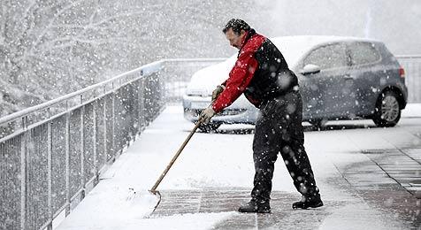 Am Dienstag soll Schnee bis in die Niederungen fallen