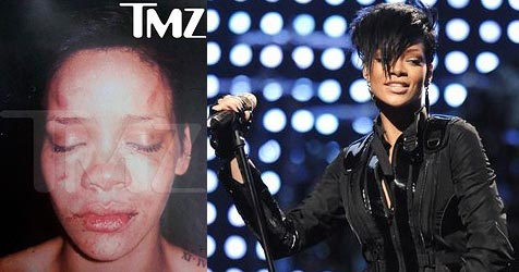 Rihanna meldet sich erstmals nach Streit zu Wort (Bild: AP Photo/TMZ.com; AP Photo)