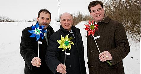 Erste windbetriebene Mobilfunkstation eröffnet (Bild: Telekom Austria)