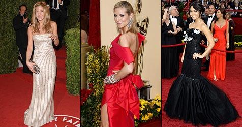 Der Style-Oscar für das schönste Kleid geht an...