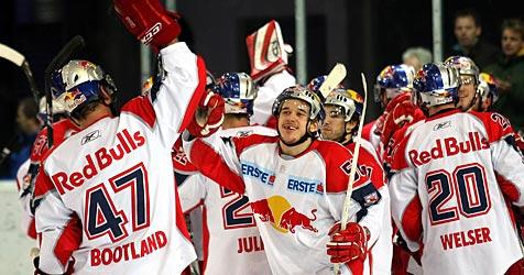 Eishockey-Vizemeister Salzburg holt Verstärkung (Bild: APA/Daniel Krug)