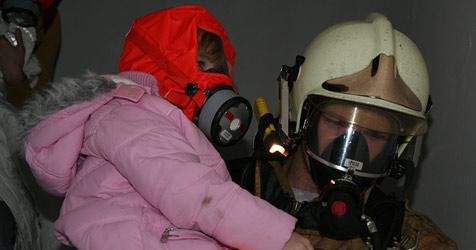 Nachbar rettet sechs Menschen aus Feuer (Bild: Feuerwehr)