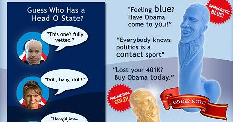 Massagestab mit Obama-Kopf (Bild: http://headostate.com/)
