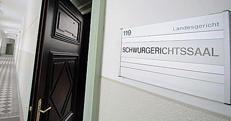 Zeuge stirbt bei Prozess in Salzburg an Herzstillstand (Bild: APA/Georg Hochmuth)
