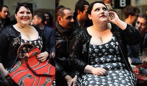 Beth Ditto ist die neue Ikone der Pariser Mode