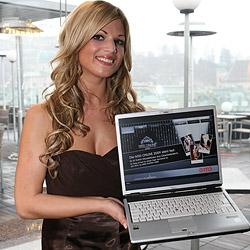 """Katrin ist die """"Miss Online 2009"""" (Bild: cityfoto / F. Schenk)"""